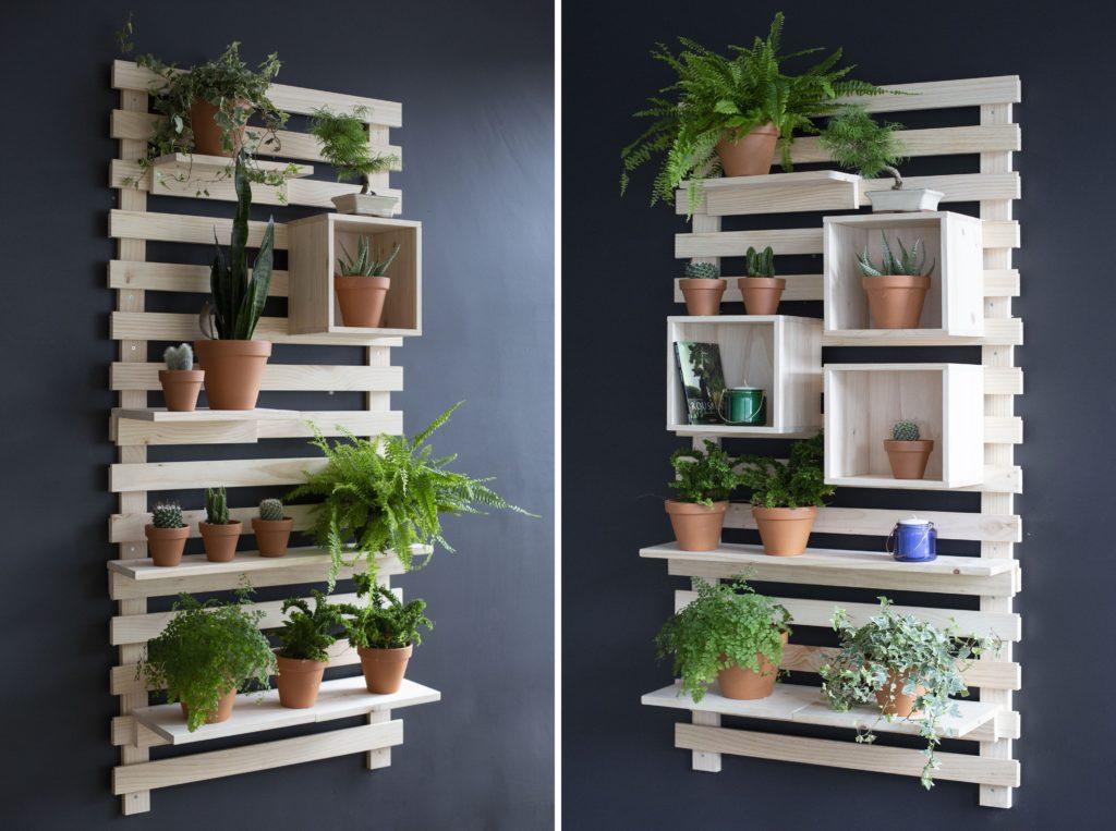 Comment faire un jardin vertical avec le tetris astiblog - Comment faire un jardin vertical ...