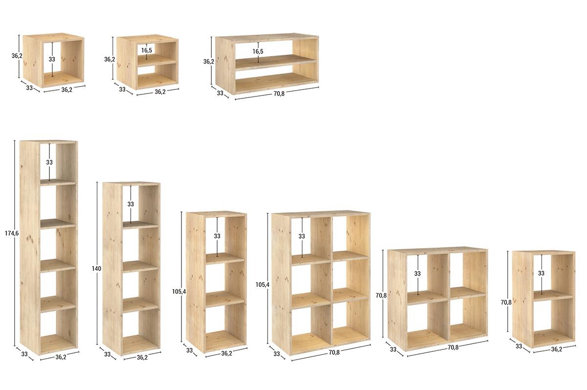 nueva balda estanterias modulares