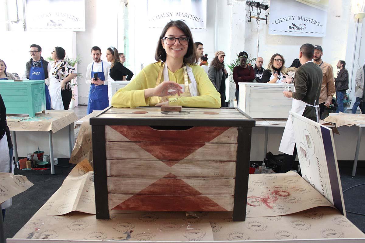 customizar baul madera