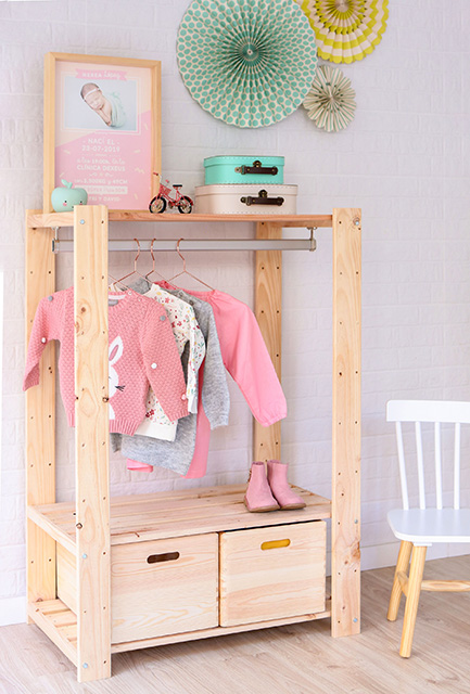 créer une armoire Montessori