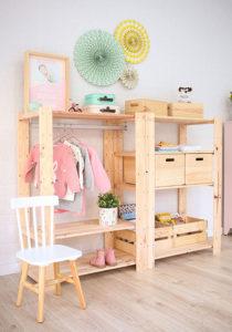 crear armario Montessori
