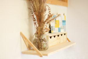 balda madera minicajonera