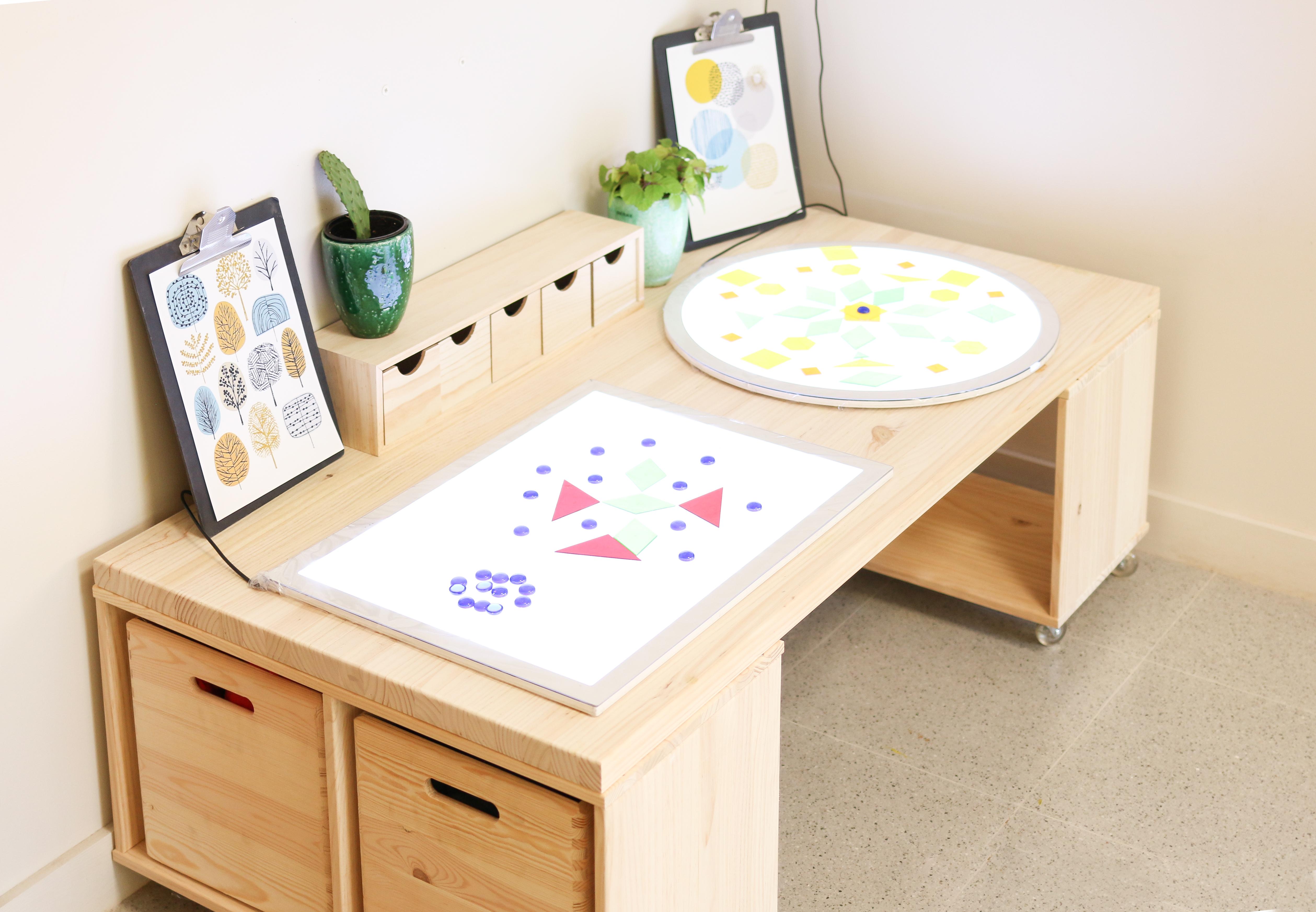 table de jeu pour enfants