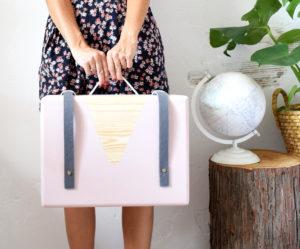 caja de madera DIY