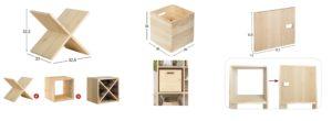accesorios para estanterias modulares Dinamic